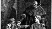 Kinh hãi con vua phạm lỗi, đứa trẻ học cùng bị trừng phạt thay