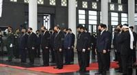 Trực tiếp: Quốc tang nguyên Tổng bí thư Lê Khả Phiêu