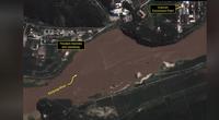 Ảnh vệ tinh chụp được cơ sở hạt nhân của Triều Tiên bị hư hại