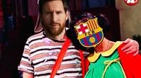 """Ảnh chế: Barca bị Bayern Munich """"đánh bầm dập"""""""