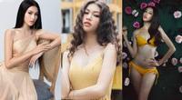 """Mỹ nữ chân dài 1,11m gây """"sốt"""" tại Hoa hậu Việt Nam 2020, xinh đẹp không kém Lương Thùy Linh"""