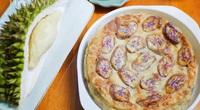Bánh chuối nướng sầu riêng thơm phức, ngon miệng, dễ làm