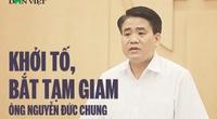 Bãi nhiệm Chủ tịch Hà Nội Nguyễn Đức Chung có phải chế tài kỷ luật?