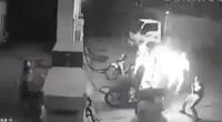 Hà Nội: Xử lý nhóm thanh niên hút thuốc gây cháy tại cây xăng