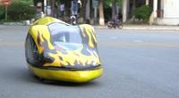 Sinh viên sáng chế xe tiết kiệm nhiên liệu: Chạy 400km chỉ mất 1 lít xăng