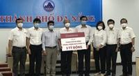 """Nhiều """"ông lớn"""" ngân hàng ủng hộ Đà Nẵng hàng chục tỷ đồng chống dịch Covid-19"""
