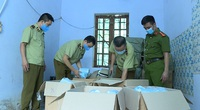 Vạn chiếc khẩu trang không rõ nguồn gốc bị phát hiện ở Hưng Yên