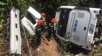 Vụ lật xe khách ở Quảng Bình: Khởi tố lái xe gây tai nạn