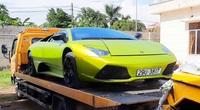 """Quảng Bình: Tạm giữ 2 """"siêu xe"""" Lamborghini,  Merceders có dấu hiệu nhập lậu"""