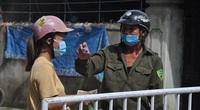 Những hình ảnh về hai khu phố đầu tiên của TP.Sầm Sơn bị phong tỏa