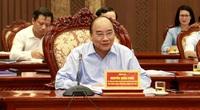 Thủ tướng Nguyễn Xuân Phúc góp ý vào Dự thảo Báo cáo chính trị Hà Nội