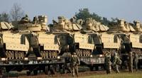 Nóng: Belarus phát hiện Mỹ tái triển khai hàng chục xe bọc thép áp sát biên giới