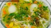 Bày cách nấu súp gà rau củ quả bổ dưỡng thơm ngon