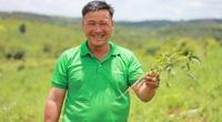 Đắk Nông: Nông dân thành tỷ phú nhờ trồng khoai lang Nhật Bản và trang trại trồng cây sâm lạ mà quen