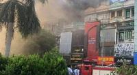 Hà Nội: Cháy quán karaoke trên đường Hoàng Quốc Việt