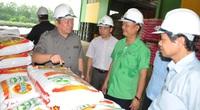 Chủ tịch Hội Nông dân Việt Nam làm việc với Công ty Tiến Nông ở tỉnh Thanh Hóa