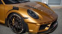 """Xe sang Porsche """"độ"""" chịu nhiệt tới 120 độ C, bên trong dát vàng thật"""
