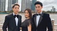 Hòa Minzy bị chỉ trích vì ngồi lên đùi trai đẹp trước mặt bạn trai thiếu gia