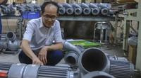 Từ thợ sửa xe đạp, lão nông Bắc Ninh thành ông chủ chế tạo máy bơm nước nổi tiếng miền Bắc