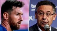 """Chủ tịch Bartomeu của Barca nói gì khi khép lại """"drama"""" với Messi?"""