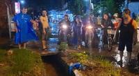 Đồng Nai: Một người rớt xuống cống bị cuốn mất tích trong cơn mưa lớn