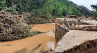 Ảnh hưởng bão số 5: Gãy cầu Achiing-Zrượt, hàng trăm hộ dân bị cô lập, thiệt hại hơn 173 tỷ đồng