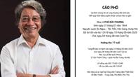 Thông tin chính thức về tang lễ nhạc sĩ Phó Đức Phương