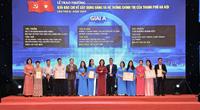 Ngày 29/9, Hà Nội trao thưởng 2 giải báo chí của Thành phố lần thứ III