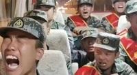 Thực hư video binh sĩ Trung Quốc bật khóc trên đường hành quân đến biên giới với Ấn Độ