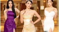 """Trần Tiểu Vy đeo trang sức giá """"khủng"""" giữa dàn mỹ nhân mặc váy xẻ cao bất tận quyến rũ """"bỏng mắt"""""""