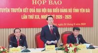 """Tân Bí thư Tỉnh ủy Yên Bái: Sẽ có đánh giá về """"chỉ số hạnh phúc"""" cho người dân"""