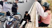 Thanh niên đập phá xe sau khi tông bà bầu bị công an triệu tập