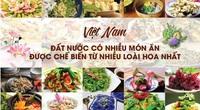 5 chữ nhất kỷ lục thế giới về ẩm thực mà Việt Nam vừa xác lập là những kỷ lục nào?