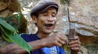 """""""Người rừng"""" Hồ Văn Lang từng 40 năm trong rừng sâu bây giờ sống thế nào?"""