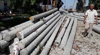 Giám đốc DN sản xuất cột điện lên tiếng việc loạt cột điện gãy dù bão không lớn