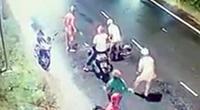 Thanh niên bị 4 người truy sát ở đường ven biển tại Bình Thuận