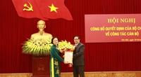 Bà Phạm Thị Thanh Trà nhận Quyết định giữ chức Phó Trưởng Ban Tổ chức Trung ương