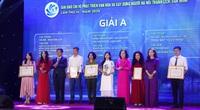 Báo Dân Việt đoạt Giải A Giải báo chí Phát triển văn hóa và Giải C Xây dựng Đảng Hà Nội