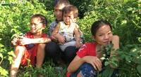 Hoàn cảnh đáng thương của 4 anh em mồ côi bên dòng sông Ba Chẽ