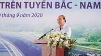 Thủ tướng dự lễ khởi công đường cao tốc Bắc Nam đoạn qua Thanh Hóa: Giao thông phải đi trước 1 bước