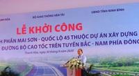Thủ tướng dự lễ khởi công đường cao tốc Bắc Nam đoạn qua Thanh Hóa