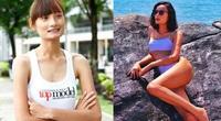 """Người mẫu Lê Thúy gây """"choáng"""" khi vóc dáng thay đổi 180 độ sau 5 năm lấy chồng"""