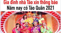 """NSND Công Lý, Vân Dung báo tin vui """"Táo Quân"""" 2021: """"Năm nay chúng em sẽ lên chầu trời"""""""