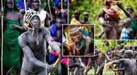 Chuyện lạ: Đàn ông cả làng dùng gậy đánh nhau để cướp vợ