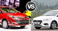 Thiết kế hút khách Việt, Hyundai Accent so kè cực gắt Toyota Vios