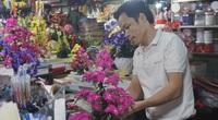 Đà Nẵng: Thị trường hoa giả ảm đạm cận Tết Nguyên đán 2021