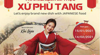 """Sự kiện """"Trải nghiệm ẩm thực xứ Phù Tang""""-nơi hội tụ nhiều món ăn Nhật Bản mới lạ"""