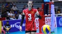 Hàng chắn của ĐT bóng chuyền nữ Việt Nam: 1m93 - 1m88 - 1m87
