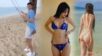 """Đặng Văn Lâm đi biển cùng """"máy bay"""" sexy, báo Thái Lan đồng loạt... chê bai"""