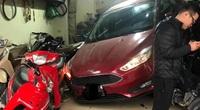 Bắc Ninh: Hoảng hồn pha lùi xe ô tô của tài xế nữ